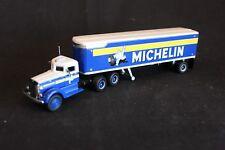 """Matchbox Peterbilt truck with trailer """"Michelin"""" (DYM35269)"""