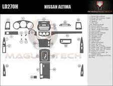 Fits Nissan Altima 2003-2004 With Auto Trans Large Premium Wood Dash Trim Kit