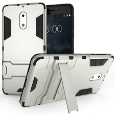 Heavy Duty Armour Case For Nokia 6 Shockproof Full Body Protective Phone Cover