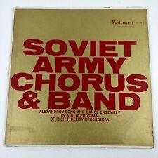 "kd Soviet Army Chorus Band Alexandrov Song and Dance Ensemble LP Vinyl 12"""