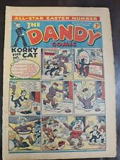 More details for the dandy comic 1941 no 176 12th april