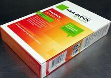 H&R Block At Home 2012 Premium +State+e-file Federal+State Tax Preparation