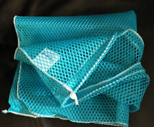NEW 2 Outdoor Products Mesh BLUE  BAG 25X 26 Beach Storage Laundry Toy Swim Sack