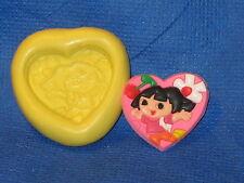 Dora The Explorer Silicone Mold Candy #500 Fondant Chocolate Sugarpaste Clay
