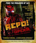 Repo! The Genetic Opera on Blu-ray Disc, 2009, From the Producers of Saw