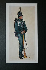 85th (Rifles) Regiment   Rifleman circa 1808    Vintage Card  VGC / EXC