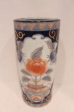 Beautiful Round Imari Style Mini Porcelain Umbrella Stand Flower Pot