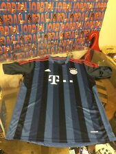 Men's FC Bayern Munich 19 T-Mobile Blue Adidas Climalite Jersey Shirt XL Good Co