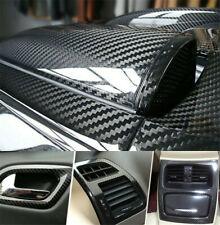 Car Stickers High Gloss Black Carbon Fiber Vinyl Car Wrap Film Diy 1ft X 5ft Fits 2012 Malibu