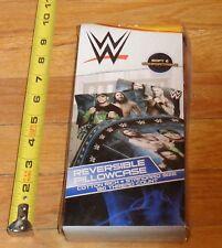 2015 WWF WWE Reversable Pillowcase Wrestling NEW John Cena Daniel Bryan
