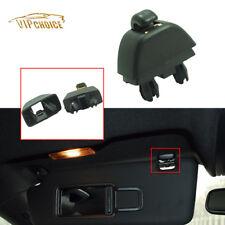 New Black Sun Visor Clip Hook Bracket 4F0857561 For Audi A6 C6 A8 2004-2011