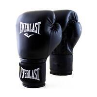 Everlast 16oz. Powerlock Training Boxing Gloves in Black/Black