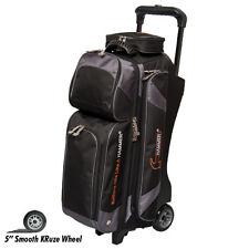 Hammer Premium 3 Ball Bowling Bag Roller Color Carbon Black