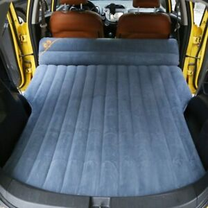Car inflatable bed flocking fabric car inflatable mattress SUV bed car supplies