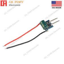 MR16 1-3x1W DC12V 24V to DC3-11V 300mA Constant Current LED Driver Power Supply