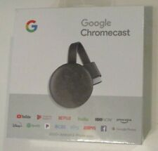 Google Chromecast  Wi-Fi Media Streamer BRAND NEW SEALED SEE ACTUAL PICTURES