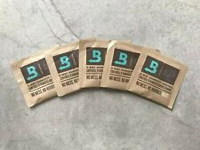Boveda 62% Rh 2-Way Humidity Control, 8 g, 5 Pack