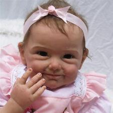 """22"""" Silicone bébé Reborn poupée jouets cadeaux fait main fille nuisettes"""
