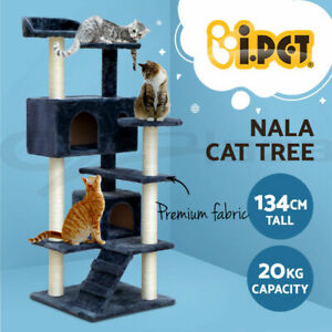 i.Pet Cat Tree Trees Scratching Post Scratcher Tower Condo House Furniture 134cm