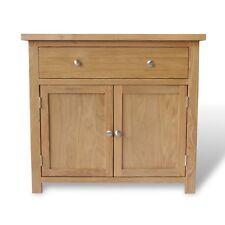 Oak Mini Sideboard / Small Oak Cupboard / Solid Wood Storage Dresser Newbury