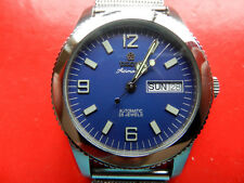 Stainless Steel Swiss Titoni Airmaster Date Day Mechanical Automatic Watch Mint