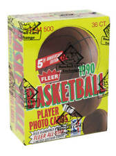 🔥1990-91 Fleer Basketball Wax Box Michael Jordan 36 Packs BBCE FASC SEALED CASE