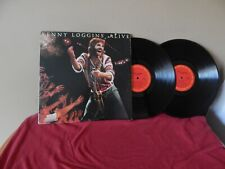 """Kenny Loggins: Alive 12"""" 33 RPM DOUBLE  LP (song titles listed)"""