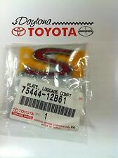 OEM Toyota  Corolla Matrix 75444-12B61 Luggage Compartment S Emblem