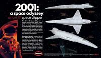 Moebius 1/160 2001 space odyssey Orion III Space Odyssey Pan-Am Space plane kit