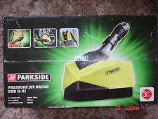New! Parkside Pressure Jet Brush PDB 15 A1 washer patio surface cleaner wheel