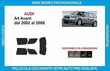 pellicole oscuranti vetri pre-tagliata  audi a4 avant dal 2002 al 2008 kit post