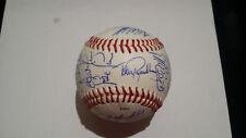 1996 Toledo mudhens AAA Minor League Team Detroit Tigers Auto Signed COA