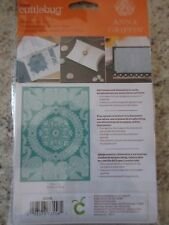 Cuttlebug Anna Griffin Calligraphy Frame Ornate Medallion Embossing Folders New