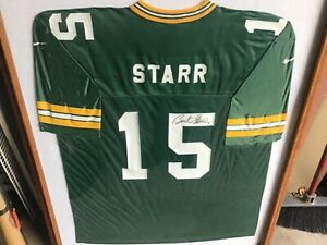 BART STARR SIGNED AUTOGRAPHED GREEN BAY PACKERS NFL Global Authentics COA!