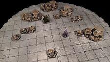 Handmade Reversible Battle Grid Board Dungeons & Dragons Scenery D&D Tiles Gift