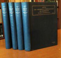 Zanichelli●ATTI CONVEGNO INTERNAZIONALE MATEMATICA 1928 4voll[analisi|meccanica]
