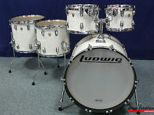 "Ludwig USA CLASSIC MAPLE shellset dans ""White Marine"" - 22,10,12,14,16"""