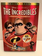 Disney The Incredibles 2-disc Collector's Edition - New, Factory Sealed!