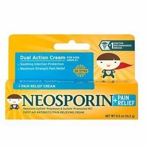 Neosporin Plus Pain Relief Antibiotic Cream for Kids and Adults Free EU/UK Post