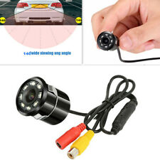 Waterproof Car Rear View 140° Camera 8 LED Night Reversing Auto Parking & Drill