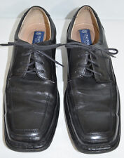 Stafford Essentials Black Lace Up Oxford Shoes Men's 10.5 D