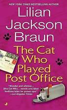 (Good)-[The Cat Who Played Post Office] [by: Lillian Jackson Braun] (Paperback)-