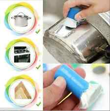 Stainless Steel Cleaning Detergent Stick Magic Metal Rust Remover Wash Brush