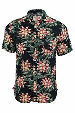 Rayon Collared Regular Beach, Palm Tree Men's Casual Shirts & Tops