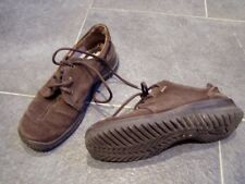 * Schöne braune Leder Sneakers GoreTex Legero Gr. 4,5 / Gr. 37,5 *