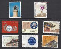 China 1998-11 ~ 2016-28 Peking Nanjing Fudan Sichuan University x 8 Full stamp