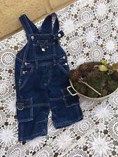 PUMPKIN PATCH retro 90's summer denim overalls dungarees shortalls size 1