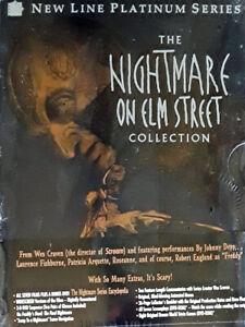 NIGHTMARE ON ELM STREET - COLLECTION - (8) DVD BOX SET - NEW LINE - STILL SEALED