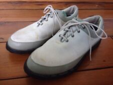 Adidas White Fit Foam Mens Shoes Athletic Golf Cleats 8.5 43