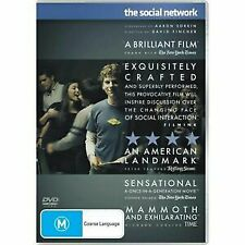 The Social Network DVD NEW Free Shipping